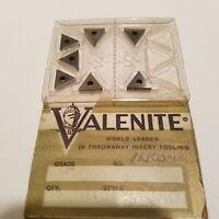 NEW Surplus 7PCS. VALENITE  TNEA 2.521  Grade C2 Carbide Inserts USA Machinist