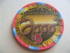 Mandalay Bay Year of the Dragon $5 casino chip