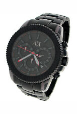 NEW ARMANI EXCHANGE CHRONOGRAPH GUN METAL 50M MENS WATCH AX1206