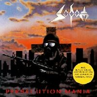 """SODOM """"PERSECUTION MANIA"""" CD NEUWARE"""