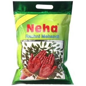 Neha Henna Mehndi Powder Natural Herbal Temporary Tattoo Paint Mehandi - 250 GM