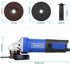 Kranich Professional Disqueuse Meuleuse D'angle angulaire 125mm 1250w 11000r/min