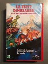 """VHS """"Le petit dinosaure et la vallée des merveilles"""" (GW)"""