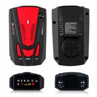 360 Degree 16 Band Car GPS Radar Detector Speed Police Voice Alert Laser V7 Red