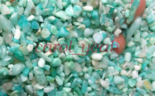 6MM Natural amazonite Fengshui fish tank stone crushed gravel stones 100g whole