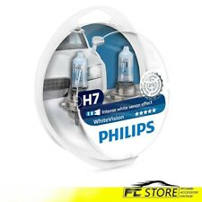 Ampoules H7+T10 Philips pour Phares Voiture Blanc Vision W5W 12V 55W 12972WHVSM