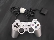 PS2 Sony Playstation 2 Silver Pal OFFICIAL CONTROLLER