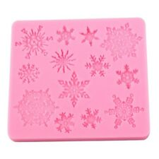 Snowflake Reusable Silicon / Soap / Fondant Icing / Chocolate Mould