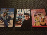 3 DVD Lot Follow That Dream, Creole, & Easy Come, Easy Go (1967) Elvis Presley