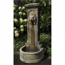 Antik Style Zapfstelle Blumen Ampel Alu Bassena Wand Brunnen Wandbrunnen 201WG1