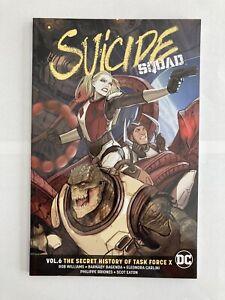 Suicide Squad volume 6: the secret history of task force x - DC Comics TPB