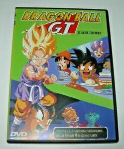 Dragon Ball GT episodios 4, 5 y 6 DVD - Edición española