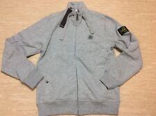 Neuer Stone Island Herren Zip Sweater Hoodie Gr S Grau Neu Mit Etikett
