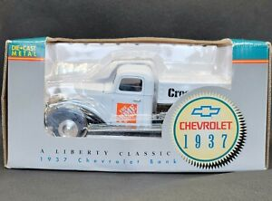 Liberty Classics 1937 Chevrolet Home Depot CrossRoads Diecast Bank 12544 1:25
