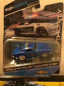 1/64 MAISTO AUTHORITY 1968 CHEVROLET CAMARO Z/28 STATE POLICE BLUE