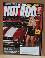 Hot Rod Magazine  October 2013 Hot Girls,Great Garages Very Good Condition