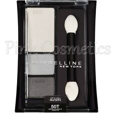 MAYBELLINE Expert Wear Stylish Smokes EYESHADOW Trio in 50T Impeccable Greys