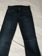 Citizens of Humanity Womens Ava Low Rise Straight Jeans 24x33 Dark wash