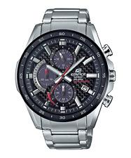 1Casio Edifice Carbon Dial Solar Chronograph Watch EQS900DB-1AV