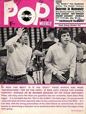 Pop Weekly Magazine 2 October 1965      Mick Jagger      The Beatles     Donovan