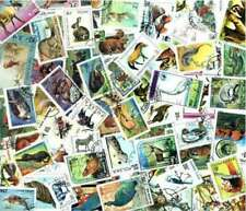Animals on Stamps - Collection of 200 Different Stamps