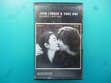 "JOHN LENNON & YOKO ONO  "" DOUBLE FANTASY ""  CASSETTE"