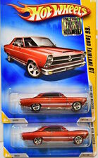 HOT WHEELS 2009 NEW MODELS '66 FORD FAIRLAME GT WHEELS VARIATION FACTORY SEALED