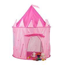 Relaxdays princesa castillo tienda de Juegos para Niñas Rosa Playhouse edad