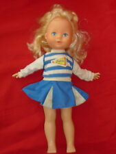 "My Friend Mandy 16"" Doll Cheerleader Outfit 1983 Blonde Fisher Price washable G7"