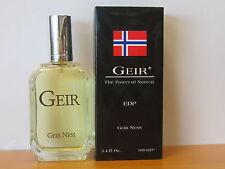 Original ~Geir The Power of Norway~ By Geir Ness Parfums for Men 3.4 oz EDP SPR