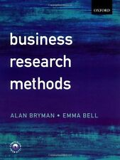 Business Research Methods,Alan Bryman, Emma Bell