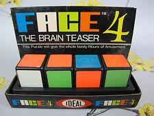 GIOCHI Retrò Vintage Ideale faccia 4 il Rompicapo Puzzle