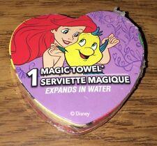 New & Sealed Disney Princess Ariel & Flounder ~ Magic Towel ~ The Little Mermaid