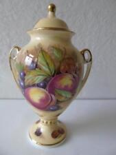 Aynsley Porcelain & China Vase Orchard Gold