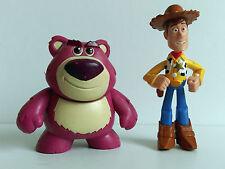 Disney Toy Story Buddy Pack Mini Figuras-Woody y lotes o Huggin Bear