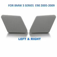 Par Delantero Parachoques Lavafaros Boquilla Tapa para BMW Serie3 E90 2005-2009