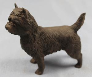 cairn Terrier  figur  hund North light hundefigur  alabaster dog