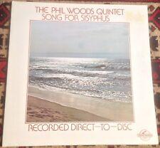 THE PHIL WOODS QUINTET song for sisyphus 1978 GERMAN CENTURY VINYL LP RECORD