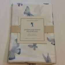 Pottery Barn Kids Sateen Remi Butterfly Standard Pillowcase Nwt