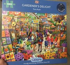 1000 Piece Gibsons Jigsaw - Gardener's Delight - COMPLETE Excellent Condition