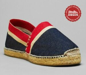 Authentic American stripes espadrilles | Handmade in Spain | Men and women