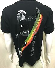 BOB MARLEY - Jamaica Football - Official T-Shirt (S) OG 2011 New Genuine 47E