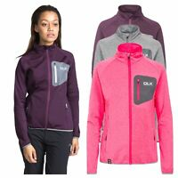 DLX Womens Long Sleeve Full Zip Jacket Gym Top Active Workout Darby