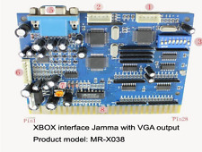 Xbox coin operated  Jamma Arcade timer board console timer MR-X038 Vga output