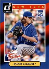 2014 Donruss Baseball #74 Jacob DeGrom Rookie Card RC New York Mets