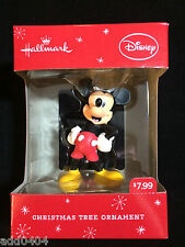 HALLMARK - DISNEY - Mickey Mouse laughing - Christmas tree ornament - 2014 - NIP