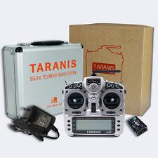 FrSky x9d Taranis PLUS ACCST 16 canali RC + ricevitore x8r + valigia in alluminio/mode 2
