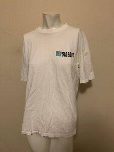 Sideout Mens 1980s 1990s Vintage Graphic T Shirt L