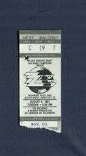 1991 Zz Top Extreme Concert Ticket Stub Rapid City South Dakota Recycler Tour