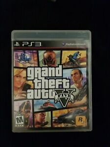 Grand Theft Auto V 5 (PlayStation 3) PS3 GAME COMPLETE w/MANUAL ROCKSTAR GTA 5